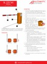 Specificatii tehnice - Bariera Automatic Systems pentru statii de taxare