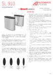 Specificatii tehnice - Porti glisante  Automatic Systems - SMARTLANE 910
