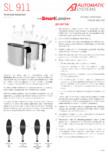 Specificatii tehnice - Porti glisante Automatic Systems - SMARTLANE 911
