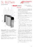 Specificatii tehnice - Porti glisante Automatic Systems - SMARTLANE 912 TWIN