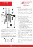 Specificatii tehnice - Porti batante - SLIMLANE 940 Automatic Systems - SLIMLANE 940 / 940SC