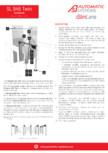Specificatii tehnice - Porti batante - SLIMLANE 945 TWIN Automatic Systems - SLIMLANE 945 TWIN 945SC