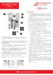 Specificatii tehnice - Porti batante - SLIMLANE 945 SC TWIN Automatic Systems - SLIMLANE 945 TWIN