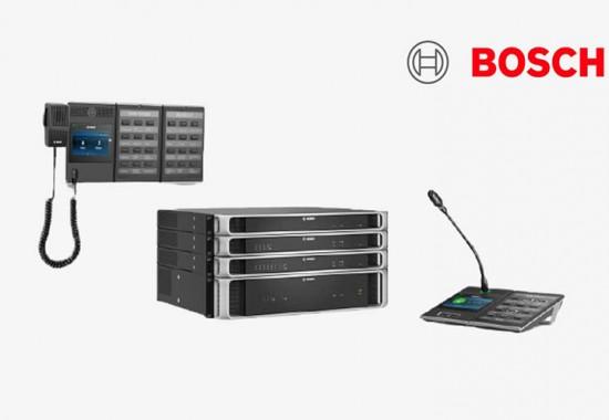 Sisteme si solutii pentru adresare publica si sonorizare PA /VA / BGM BOSCH