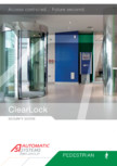 Brosura - Usi glisante ClearLock Automatic Systems