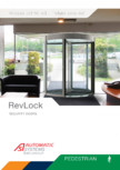 Brosura - Usi glisante  RevLock Automatic Systems - REVLOCK 603