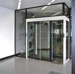 Usi glisante pentru acces pietonal Automatic Systems