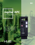 Automat de plata HUB Jupiter APC  HUB Parking Technology -
