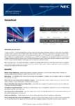 Ecran LCD   Sharp/NEC Display Solutions - X554UNV-2