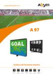 Afisaj LED pentru perimetru arena sportiva  Absen - A98