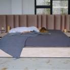 Pat BoxSpring Oak - Cadrul de pat BOXSPRING