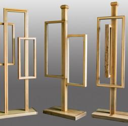 Lampi cu led, realizate manual din lemn masiv Cramar Design