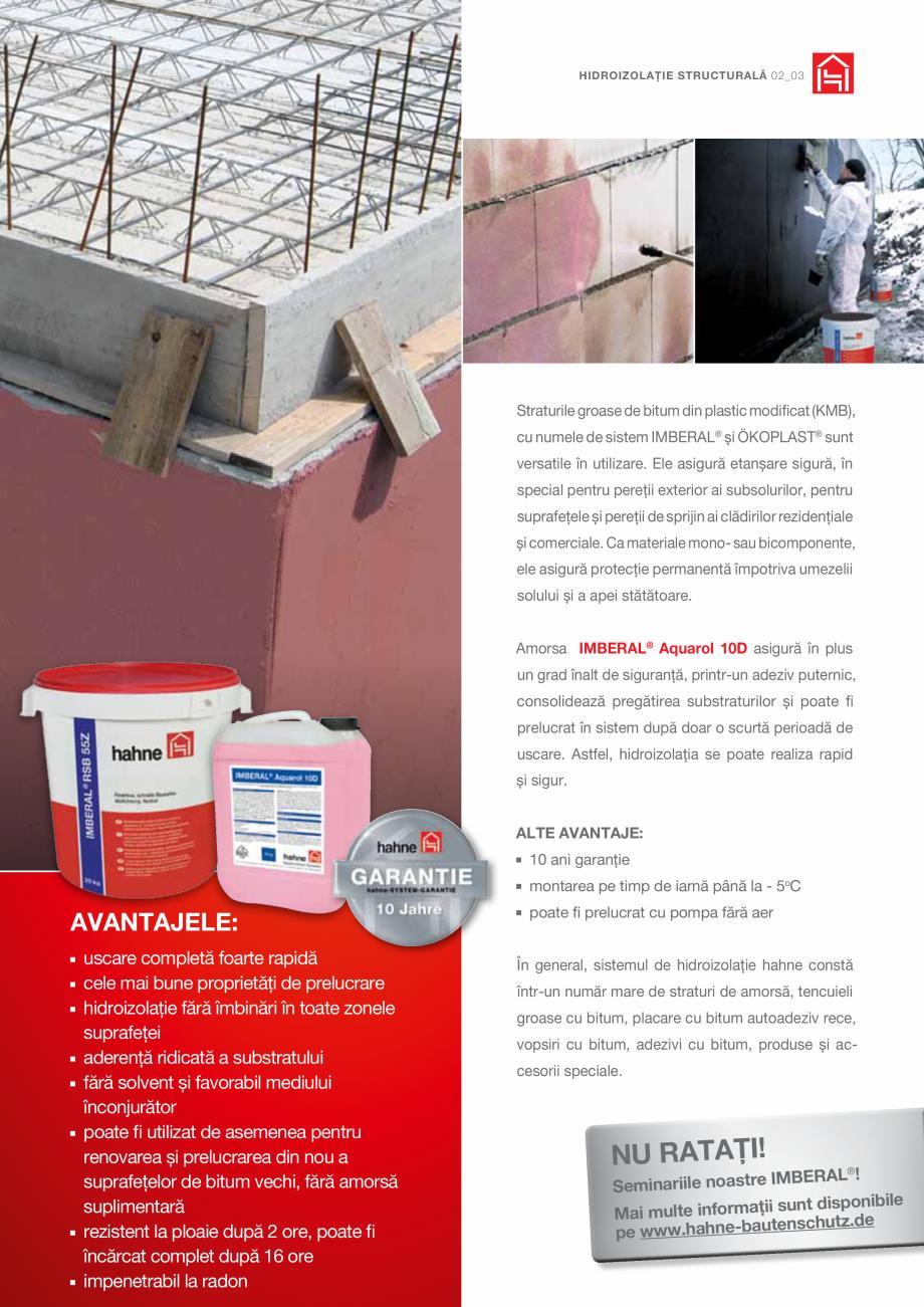 Pagina 3 - DRO20130917_GB_Image-Broschuere_16S Hahne Catalog, brosura Romana at în sistem după...