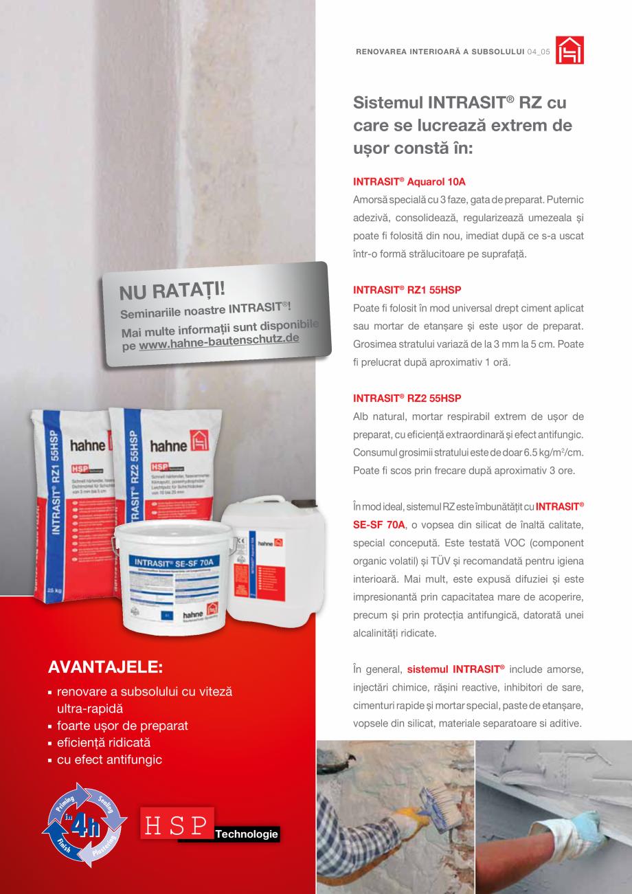 Pagina 5 - DRO20130917_GB_Image-Broschuere_16S Hahne Catalog, brosura Romana u toate avantajele,...