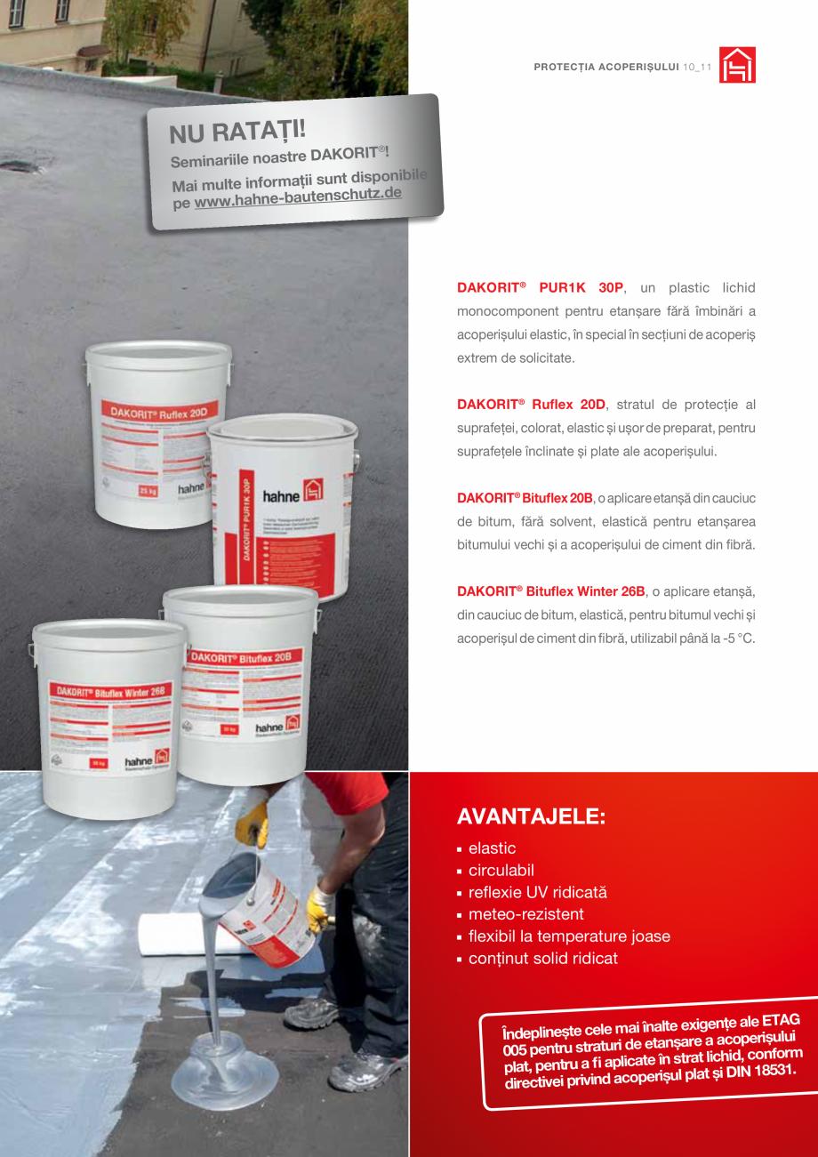 Pagina 11 - DRO20130917_GB_Image-Broschuere_16S Hahne Catalog, brosura Romana trat suport.  ® ...