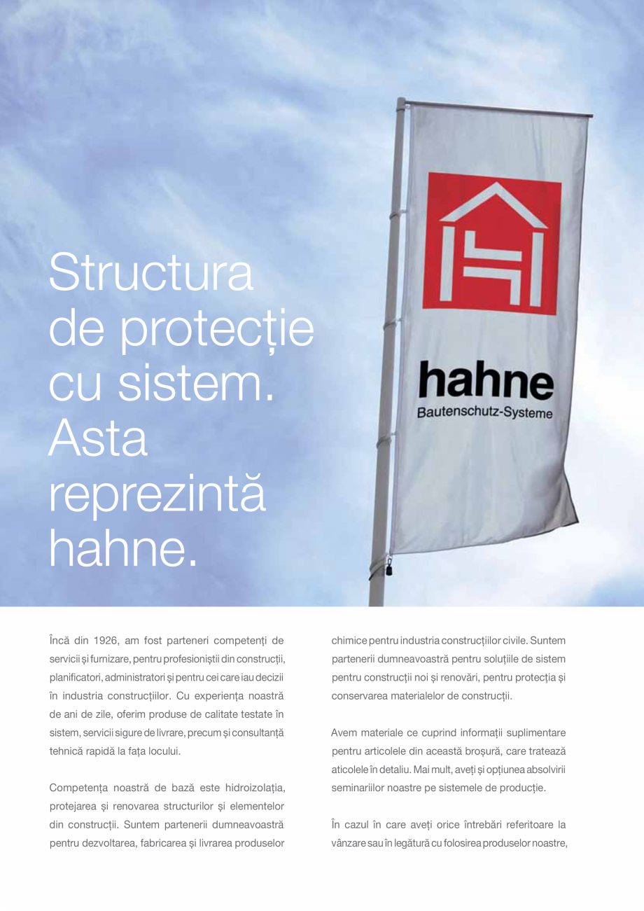 Pagina 14 - DRO20130917_GB_Image-Broschuere_16S Hahne Catalog, brosura Romana �  PROTECŢIA...