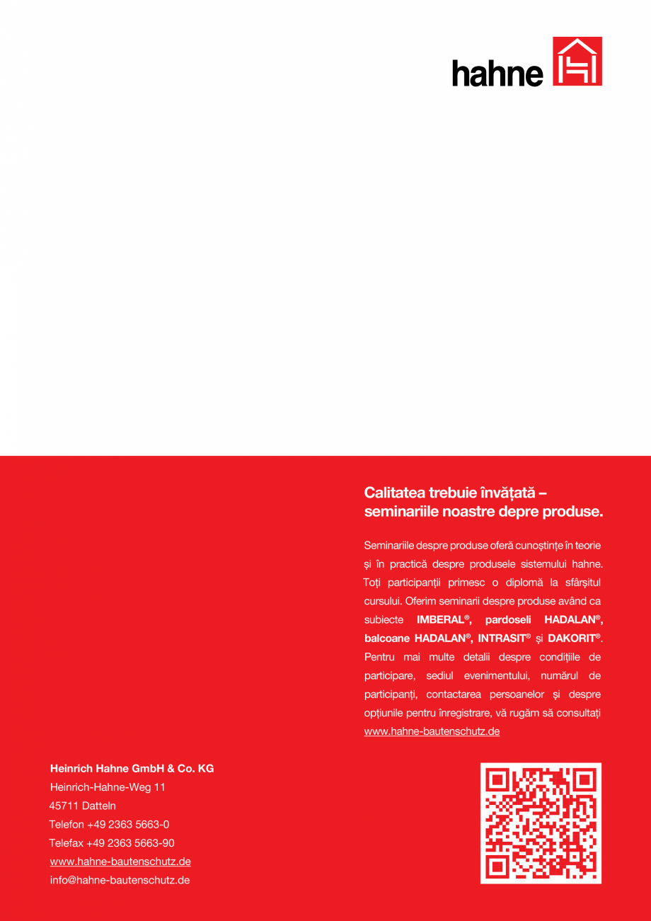Pagina 16 - DRO20130917_GB_Image-Broschuere_16S Hahne Catalog, brosura Romana îmbinare şi repară ...
