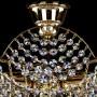 Detaliu plafoniera cristal