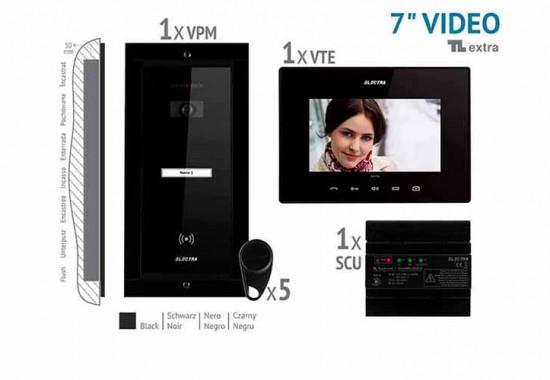 Interfoane si kituri audio-video pentru blocuri si vile ELECTRA