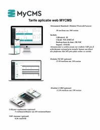 Tarife aplicatie web