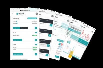 Aplicatia MY CMS - proiecte modul standard MyCMS Aplicatie web