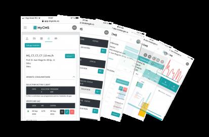 Modulul ANRE al aplicatiei MY CMS modul ANRE MyCMS Aplicatie web
