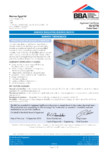 Certificare BBA 10/4779 pentr MARMOX THERMOBLOCK