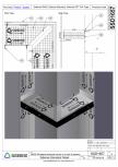 Montare bariera Siderise RH25 intr-un colt extern - SSD1657-A Siderise -