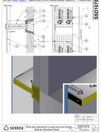 Montarea barierei Siderise RH25 intr-o cavitate mare - SSD1670-A