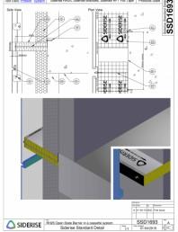 Bariera Siderise RH25 intr-un sistem de caseta de fatada - SSD1693-A