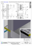 Bariera Siderise RH25 intr-un sistem de caseta de fatada  - SSD1780-A Siderise -