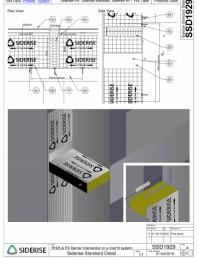 Barierele Siderise RH25 & RV in sistem de fixare cu nituri - SSD1929-A