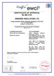 Declaratie de performanta - Nr ME 5101 pentru bariere orizontale pentru cavitati deschise - Siderise RH