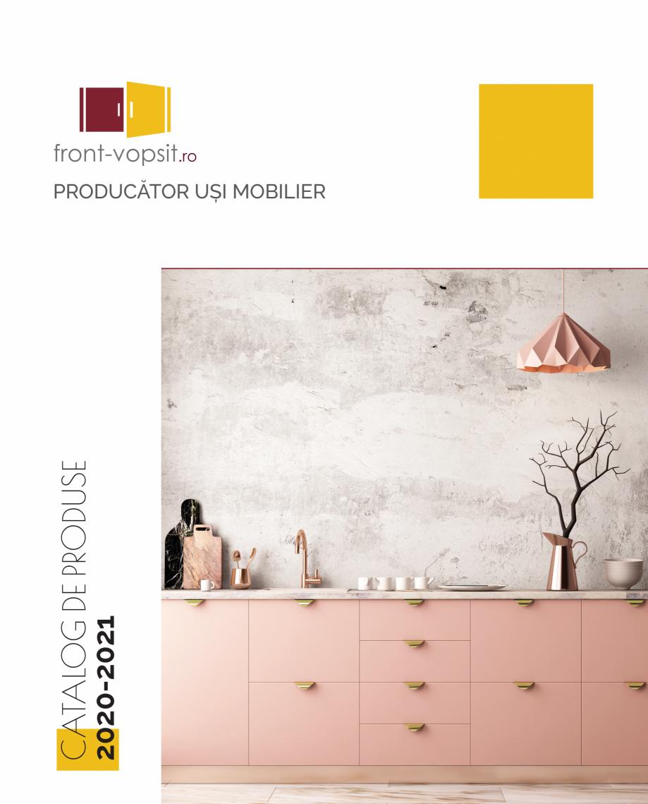 Pagina 1 - Front Vopsit Ecatalog - Colectiile Clasic si Modern  Catalog, brosura Romana 2020-2021 ...