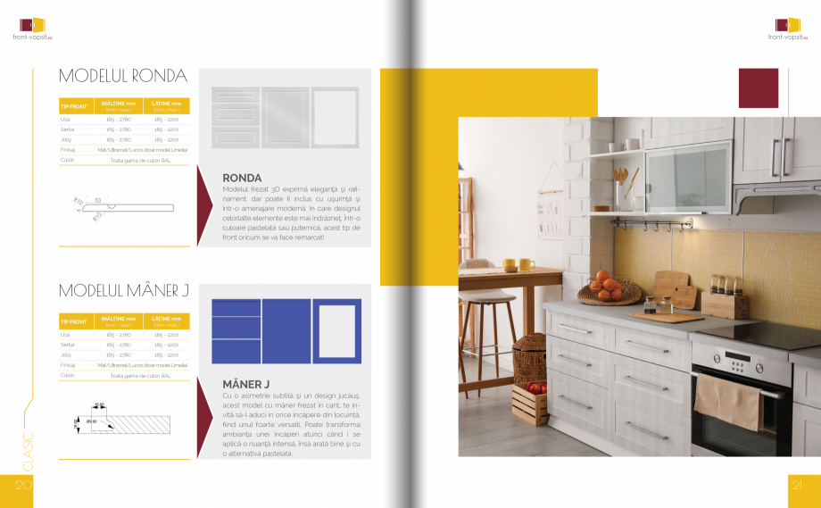 Pagina 11 - Front Vopsit Ecatalog - Colectiile Clasic si Modern  Catalog, brosura Romana Jolly  165 ...