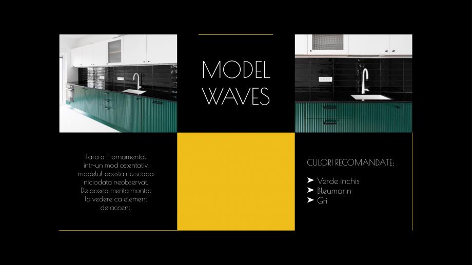 Pagina 9 - Catalog de produse - Fronturi din MDF vopsit pentru mobilier - Colectia Custom Sibo...