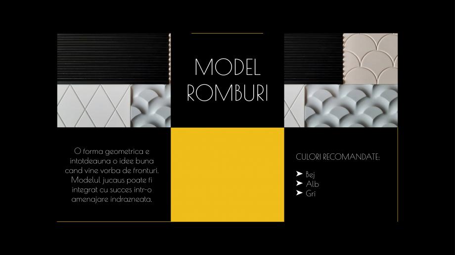 Pagina 11 - Catalog de produse - Fronturi din MDF vopsit pentru mobilier - Colectia Custom Sibo...