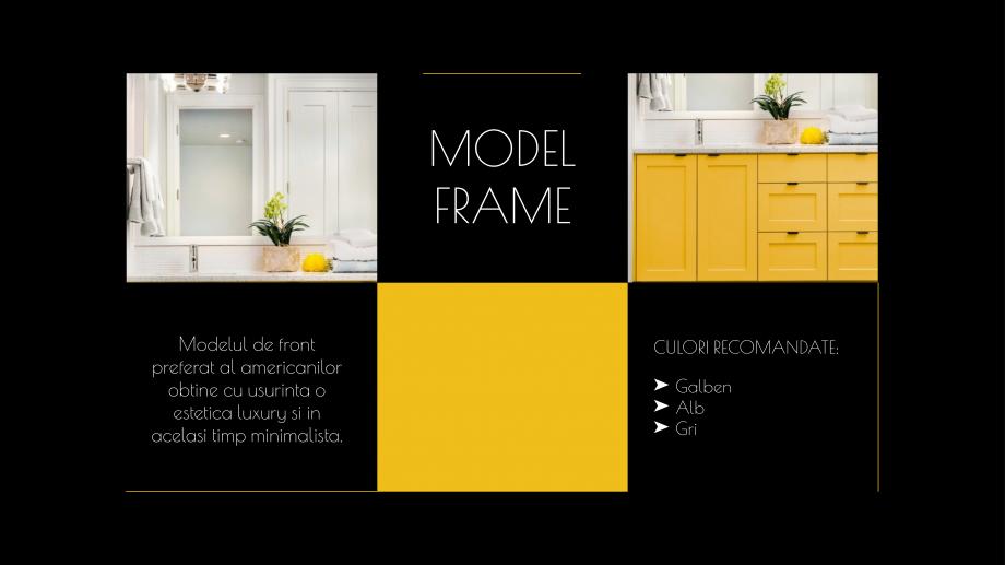 Pagina 12 - Catalog de produse - Fronturi din MDF vopsit pentru mobilier - Colectia Custom Sibo...