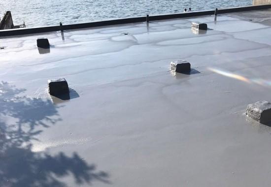 Hidroizolatii blocuri, terase cu poliuree Izoterm System