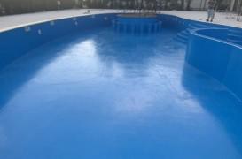 Hidroizolatii piscine cu poliuree Izoterm System