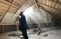 Izolatie termica pentru mansarde cu spuma poliuretanica Izoterm System
