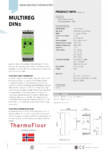 Termostat cu senzor de temperatura Walton - Multireg DIN±