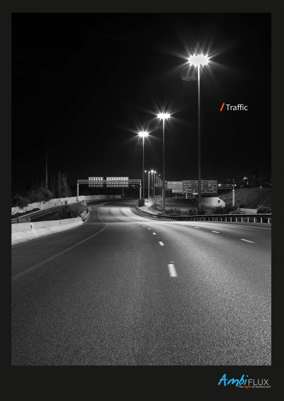 Pagina 1 - Brosura - Stalp si lampa pentru iluminat perimetral  AMBIFLUX Ambiflux Traffic  Catalog, ...