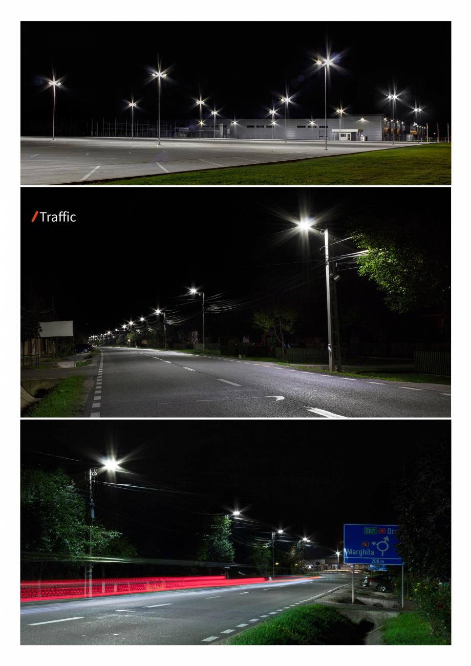 Pagina 4 - Brosura - Stalp si lampa pentru iluminat perimetral  AMBIFLUX Ambiflux Traffic  Catalog, ...