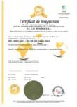 Certificat Sistem de Management de Mediu ISO 14001:2015  BAVARIA
