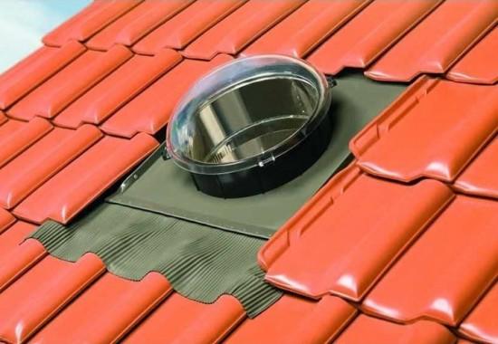 Tunele de lumina pentru acoperis rezistente la radiatii UV Optilight