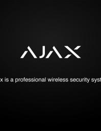 Sisteme wireless profesionale de securitate - AJAX