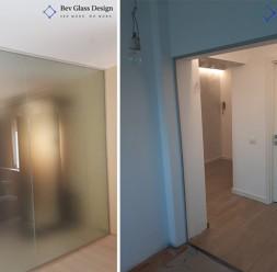 Compartimentari din sticla pentru spatii interioare si exterioare Bev Glass Design