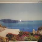 Santorini - Sticla printata
