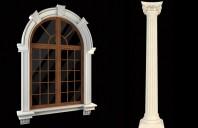 Profile decorative din polistiren pentru fatade WEST ARHITECTURAL